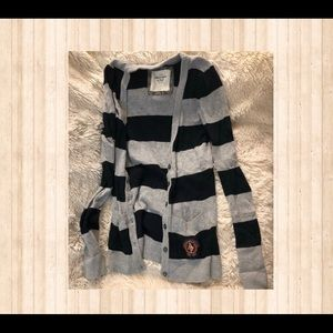 Abercrombie & Fitch Girl's Cardigan Size Small